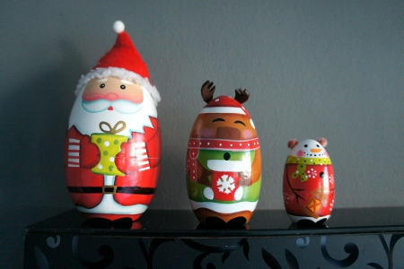 Christmas matryoshka