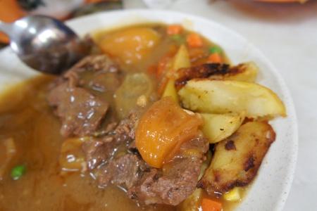 (half-eaten) lamb chops
