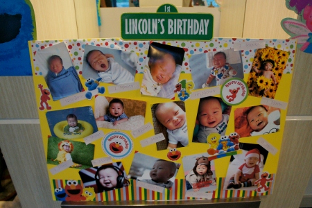 12 months of Lincoln