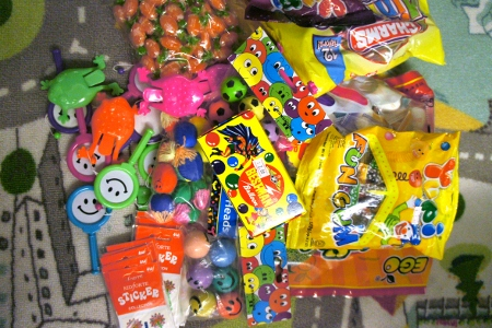 stuff for pinata