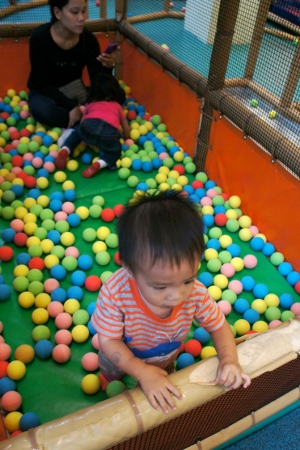 ball pit for the under-4s