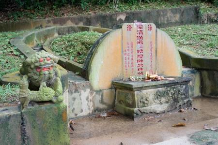 Tan Tock Seng's grave