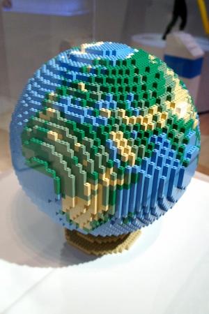 Lego globe!