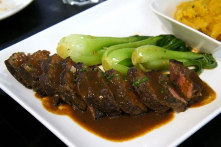 Beef tenderly cooked for 48 hours