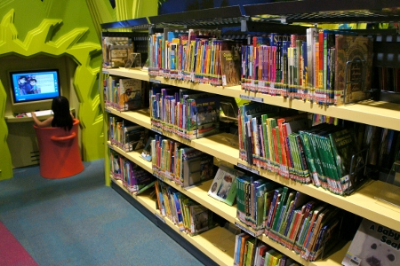 non-fiction section