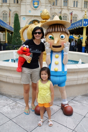 with Pinnochio