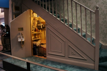 cupboard under the stairs