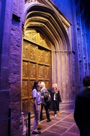the magic behind those doors
