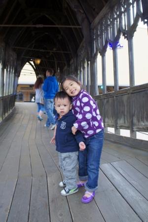 on the Hogwarts Bridge