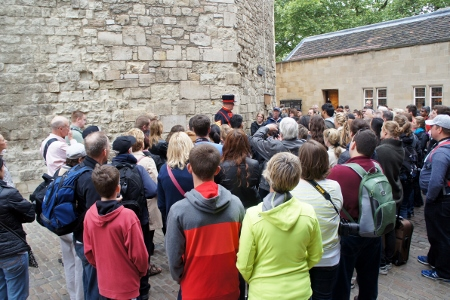 on the Beefeater tour