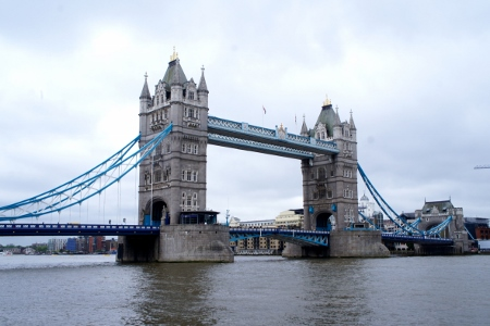 the iconic Tower Bridge