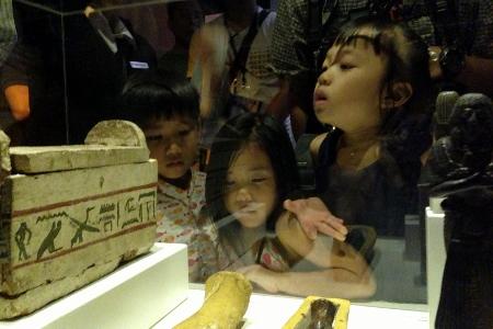 fascinated kids