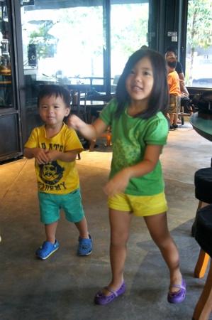 impromptu dance
