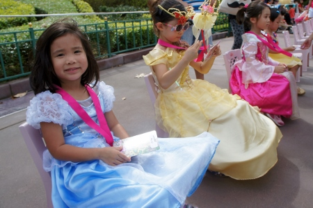 mini princess parade