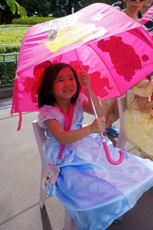 little umbrellas for the princesses