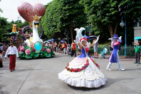 the float the mini princesses have all been waiting for!