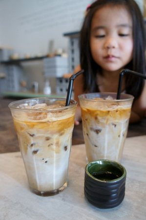 iced lattes