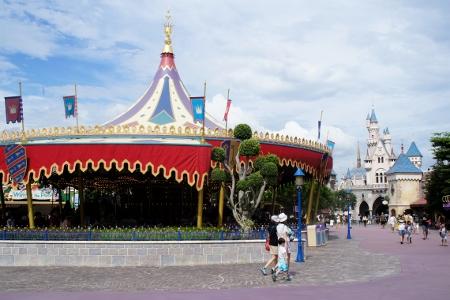 Fantasyland Cinderella Carousel