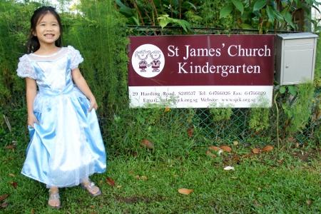 Cinderella's last day of school