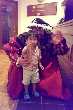 he met Henry VIII as well