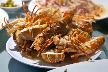 sweet yummy lobster