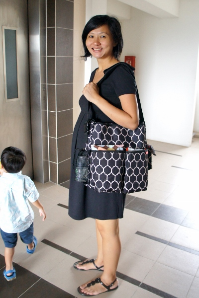 with my Skip*Hop Duo Diaper bag