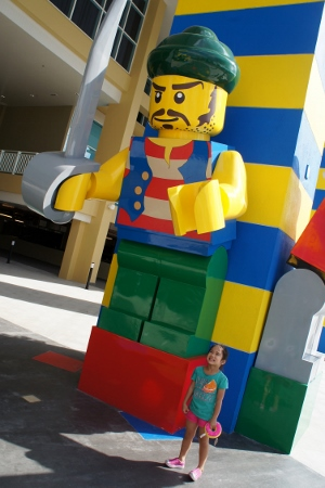 huge Lego figures