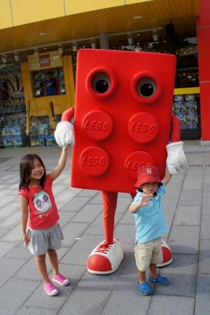 Lego mascot