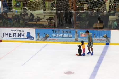 at The Rink