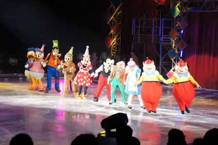 Disney On Ice presents Let's Celebrate back in 2012
