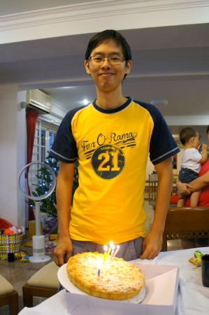 it was Hwee Lee's birthday as well