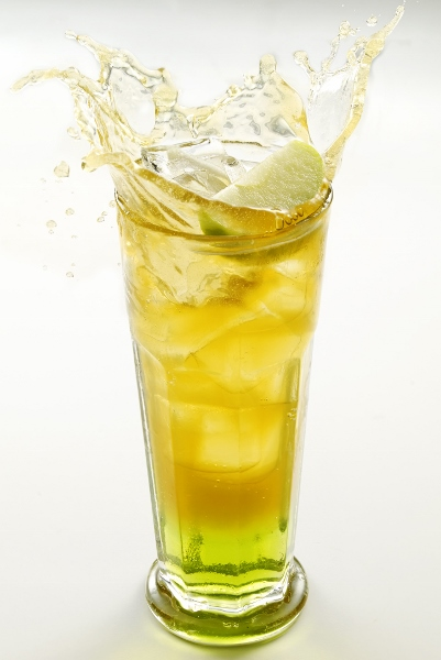 Green Tea Apple Soda