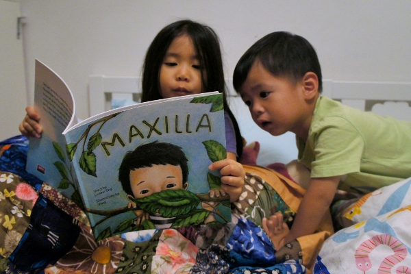 Anya reading Maxilla