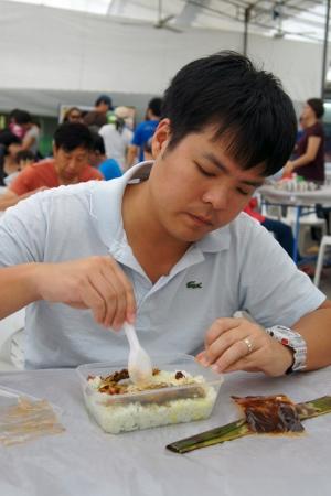 nasi lemak for Adrian