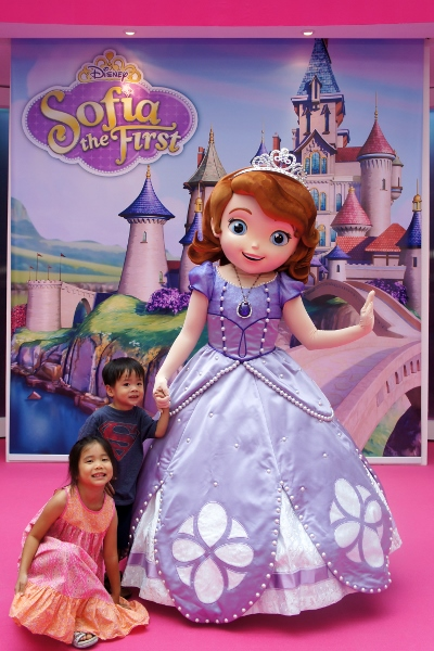 photo with Sofia the First