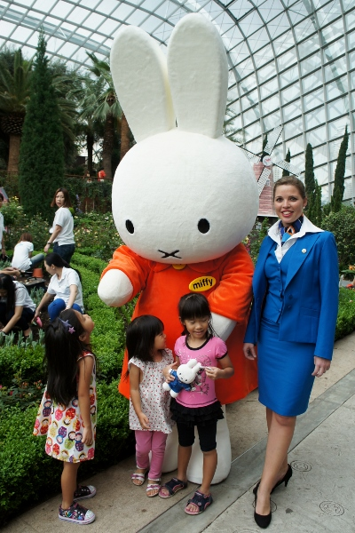talking to Miffy