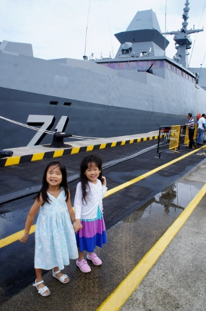with RSS Tenacious