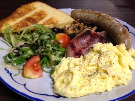 Adrian's breakfast platter
