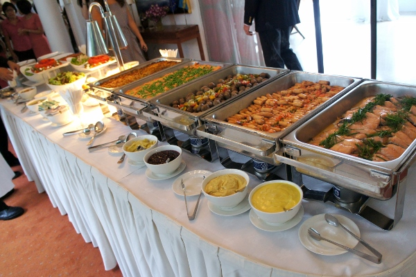 a fabulous Swedish buffet