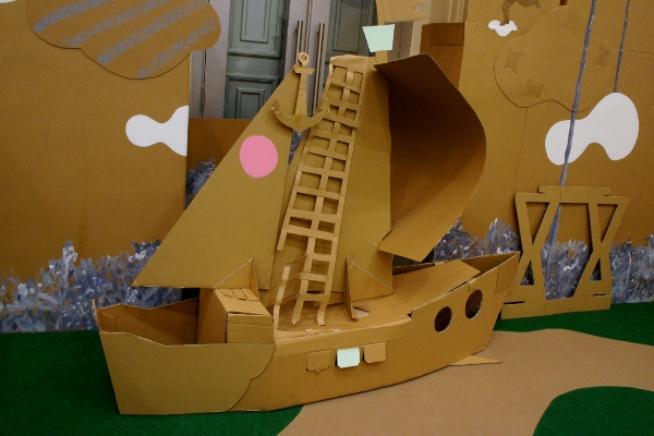 everything made with cardboard