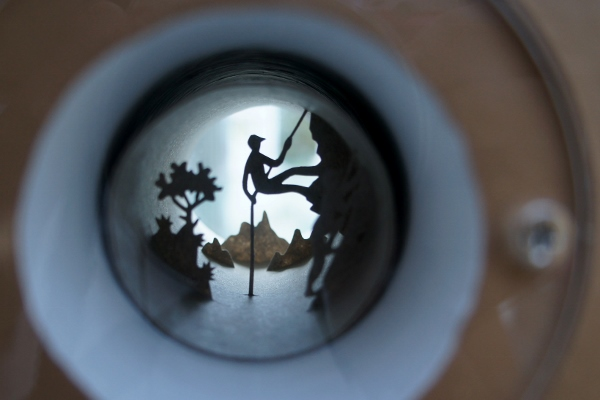 amazing little dioramas in toilet rolls
