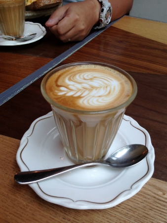 love the latte glass