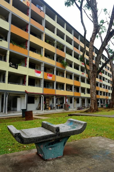 the first HDB blocks