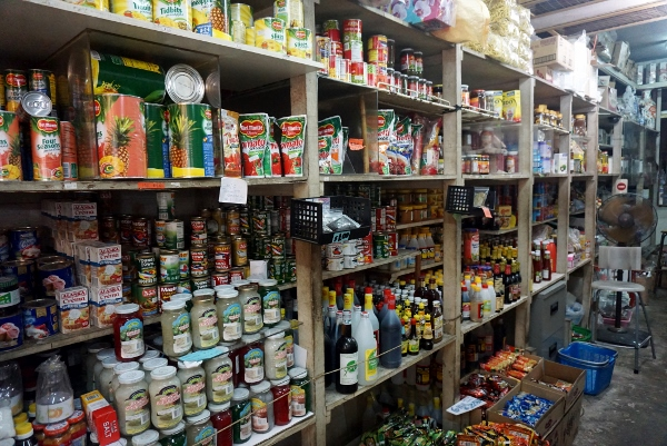 old provision shop in Tanglin Halt