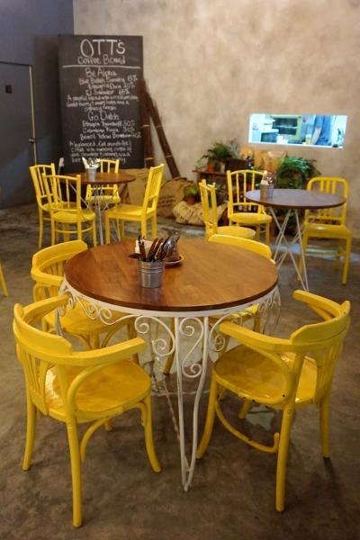 happy yellow chairs