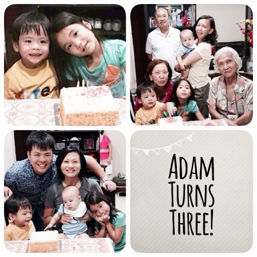 Adam Turns 3