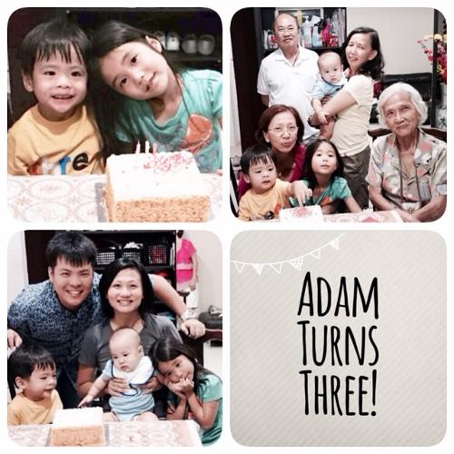 Adam Turns 3