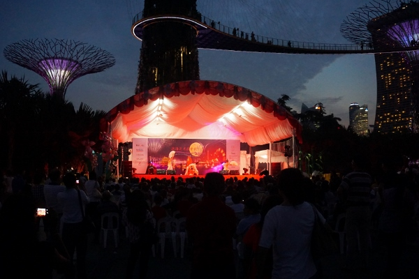 performances at Super Tree Grove