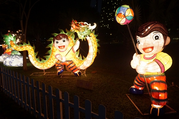 lanterns featuring Chinese culture
