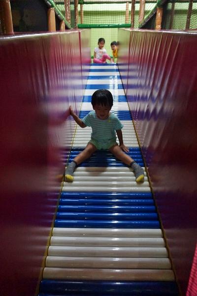 wheee, roller slide!
